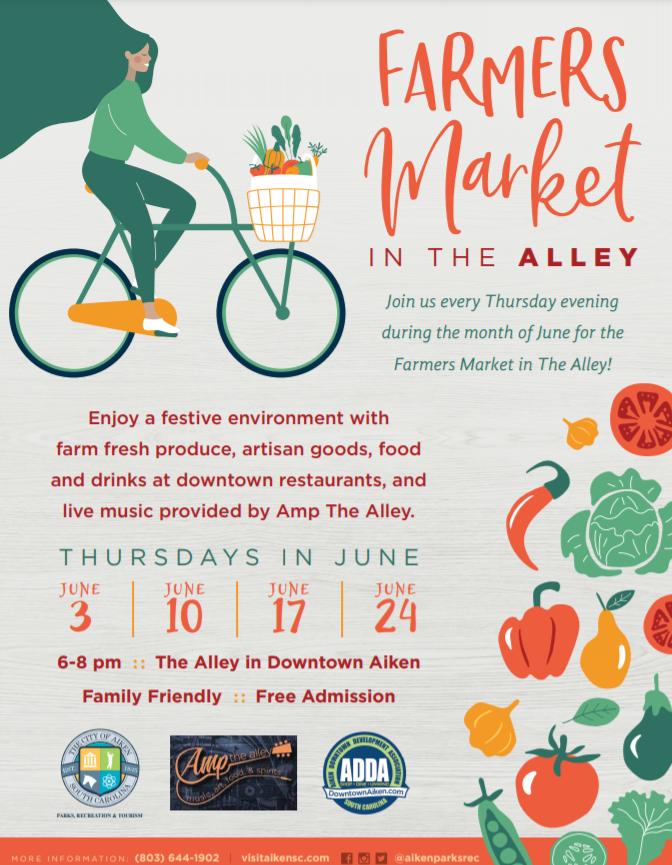 Farmer's Market in the Alley